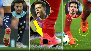 هل تعلم لماذا يمزق لاعبوا كرة القدم أحذيتهم وجواربهم ؟
