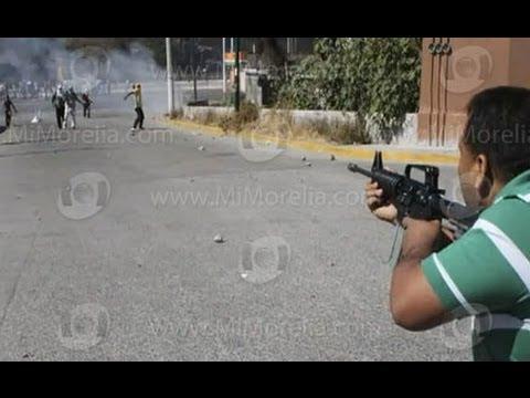 Fuerte Balacera en Monterrey Ministeriales Vs Sicarios del Chapo Guzmán