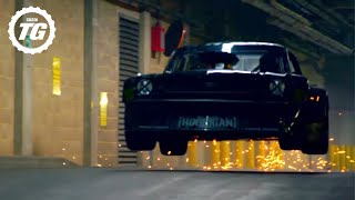 Ken Block Drifts London – EXTENDED Director's Cut | Top Gear | BBC