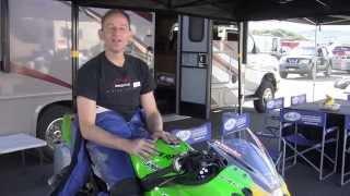 Pacific Riding School - Kawasaki Ninja 250 at Laguna Seca