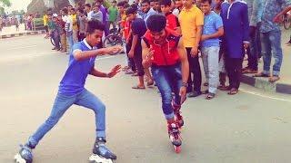 bangla  skating video milon rubel 2017