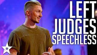 Magician Tom London amazes Judges with MAGIC | America