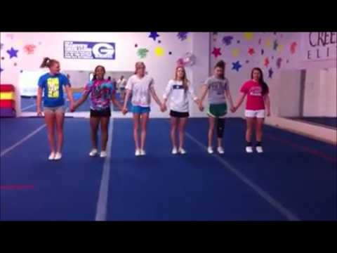 Girls fail at doing backflip at least one does