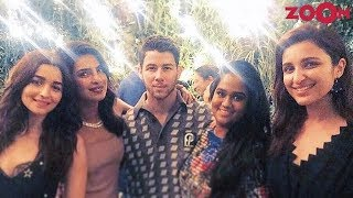 Alia Bhatt, Parineeti Chopra And Others Attended Nickyanka