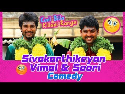 Kedi Billa Killadi Ranga Tamil Movie   Back To Back Comedy Scenes   Sivakarthikeyan   Vimal   Soori