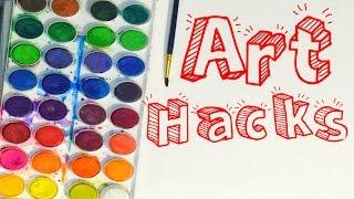 Easy Art Hacks!