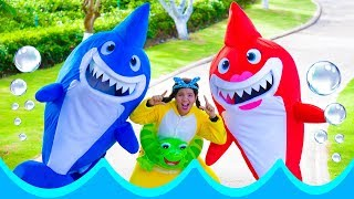 Baby Shark Song Nursery Rhymes for Kids | Sing and Dance Animal Songs