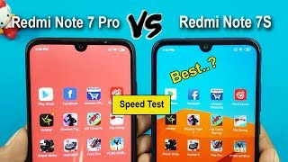 Redmi Note 7S vs Redmi Note 7 Pro Speed Test & Hardware Comparison || Which  Should You Buy?
