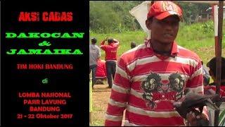Aksi Cadas Dakocan & Jamaika Tim Hoki Bandung