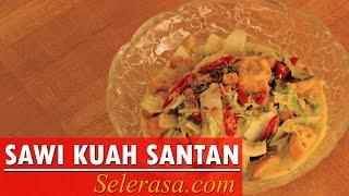 Resep dan Cara Membuat Sayur Sawi Putih Kuah Santan   (Indonesia Recipe)