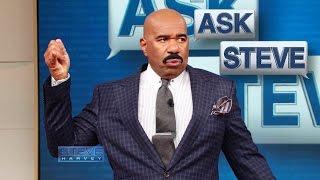 Ask Steve: My friends ALWAYS want to split the bill! || STEVE HARVEY