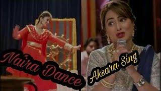 Aksara Singing And Naira Dancing - Old Memories Of Ye Rista Kya Kehlta Hai HD