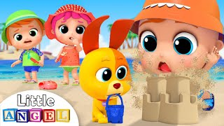 Playtime At The Beach & Swimming Song   Little Angel Nursery Rhymes