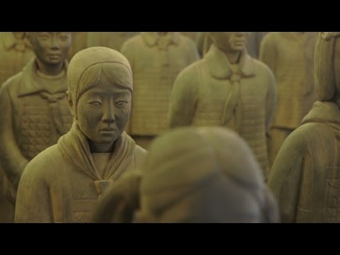 One artist hopes to save China's girls