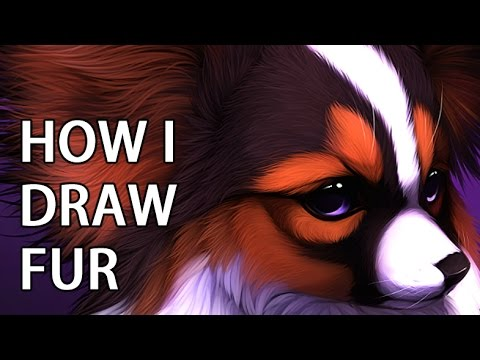 How to paint fur Tutorial