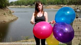 Balloon Fetish | New Balloon Vids July 2017 (popping)