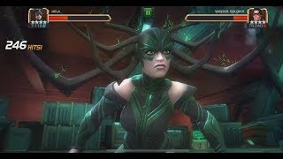 Rank 5 Hela VS Realm Of Legends Winter Soldier - Marvel Contest Of Champions