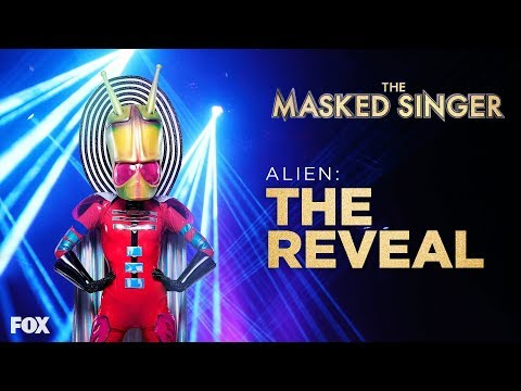Xxx Mp4 The Alien Is Revealed Season 1 Ep 7 THE MASKED SINGER 3gp Sex