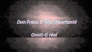Don Fraco - ta nocher ( Onati-G RéaL) 2015 reggaeton