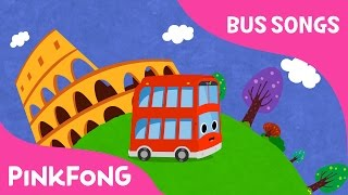 Tour Bus | Tour bus goes around the world | Bus Songs | Car Songs | Pinkfong Songs for Children