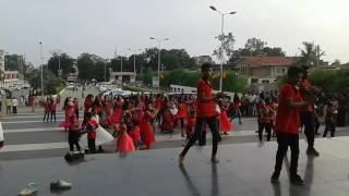 Naidu dance classes flashmob 2016