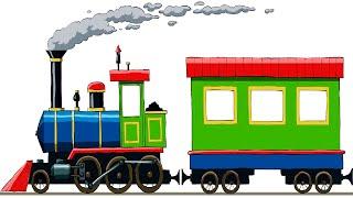 Train Cartoon - Trains for kids - Cartoon - Train