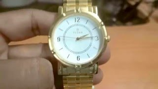 Review Of Titan Analog 1639YM03 Gold Plated Wrist Watch For Men