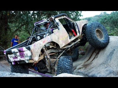 Obstacle Course Hill Climb and Coal Chute Top Truck Challenge 2013