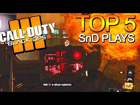 Black Ops 3 - Top 5 Search & Destroy Plays - BO3 Community Top Five #13