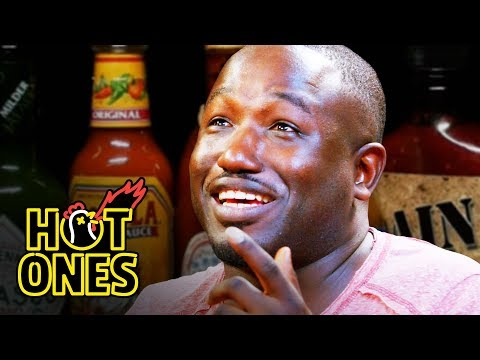 Xxx Mp4 Hannibal Buress Freestyles While Eating Spicy Wings Hot Ones 3gp Sex