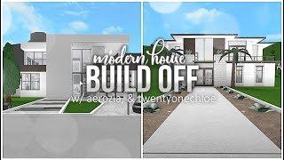 Roblox | Bloxburg | Build Off: Modern House w/ Aerozia