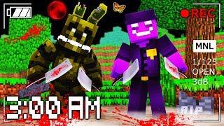 Minecraft Pe - Do NOT Play FNAF at 3:00 AM with RageElixir!