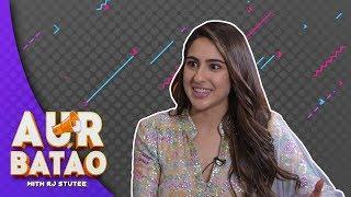 Sara Ali Khan on ways to win her heart II KEDARNATH INTERVIEW II AUR BATAO