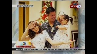 Dingdong Dantes, may sweet video message sa misis na si Marian Rivera sa kanilang 3rd wedding anniv