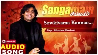 Sowkiyama Kannae Song | Sangamam Tamil Movie Songs | Rahman | Vindhya | AR Rahman | Music Master