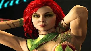 INJUSTICE 2: All Poison Ivy Intros (Dialogue & Character Banter) 1080p HD