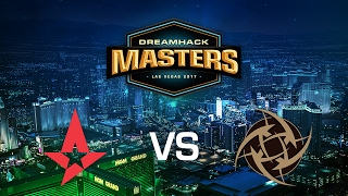 Astralis vs. Ninjas in Pyjamas - Inferno - Quarter-final - DreamHack Masters Las Vegas 2017
