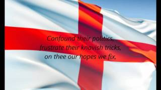 """English National Anthem - """"God Save The Queen"""" (EN)"""