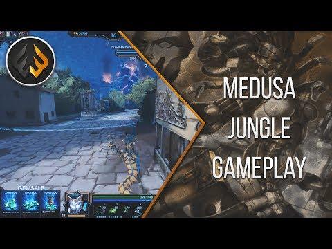 Medusa: SUNDER IS DUMB & NEW SKIN IS DOPE - Smite