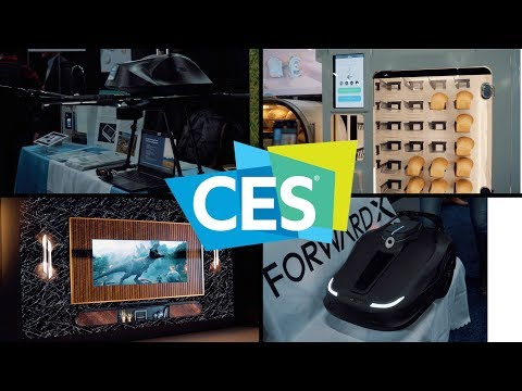 Cool Stuff from CES Unveiled and Samsung CES 2019 Day 1