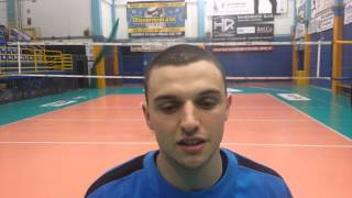 Stefano Schettino - capitano - Top Volley Risparmio Casa Sabaudia