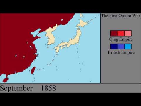 The Opium Wars: Every Month
