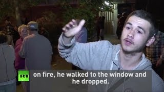 Tower inferno witness: