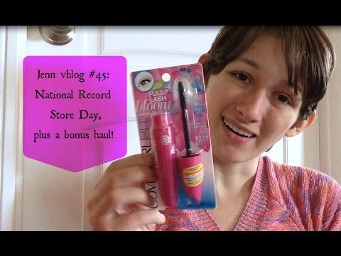 Jenn vblog #45: National Record Store Day + a bonus haul!