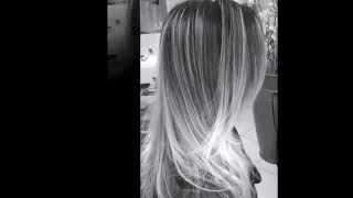 Ombre  hair igor bonne cabeleireiro