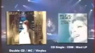 Mylène Farmer - Pub pour le single live de Dessine-moi Un Mouton