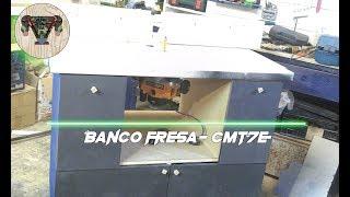 Banco fresa per CMT7E- Alfre fai da te