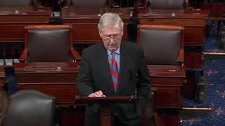 Mitch McConnell: Trump Will Sign The Bill & Declare National Emergency At Same Time 2/14/19
