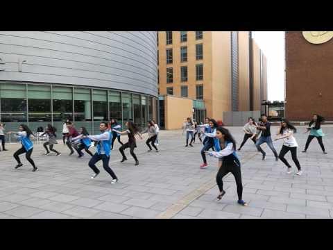 Indian Dance Society Manchester, Flashmob