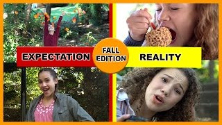 Fall Edition - Expectation vs Reality (Haschak Sisters)